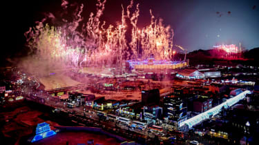 PyeongChang 2018 Winter Olympics fireworks