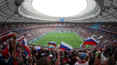 Russia vs. Saudi Arabia Luzhniki Stadium Moscow 2018 World Cup