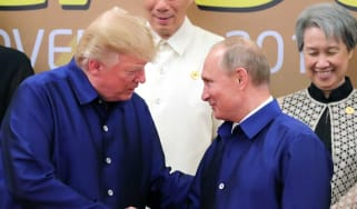 Trump and Putin meet again at the APEC Summit in Vietnam on the weekend