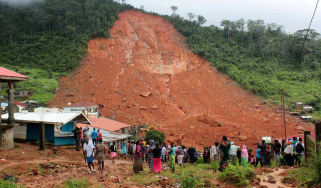 Search continues for survivors of deadly mudslide in Sierra Leone