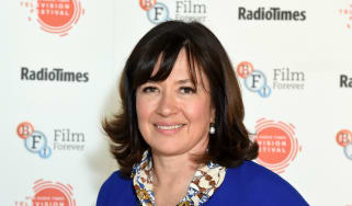 Daisy Goodwin attends the BFI & Radio Times TV Festival at the BFI Southbank on April 8, 2017 in London, England.