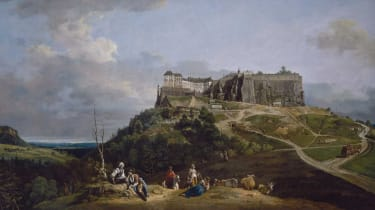 Bernardo Bellotto The Fortress of Königstein from the North-West (1756-8)