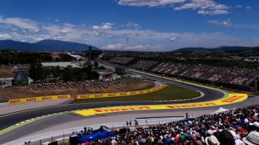 F1 Spanish Grand Prix Circuit de Catalunya Barcelona Montmelo