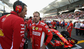 Ferrari's Sebastian Vettel finished second behind Lewis Hamilton in the 2018 F1 championship