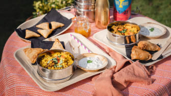 Mandira's Kitchen Indian picnic in a box for two