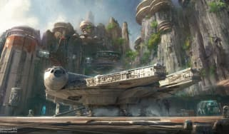 Star Wars Theme Park - Artist Impression