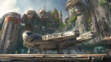 Star Wars Theme Park - Artist Impression