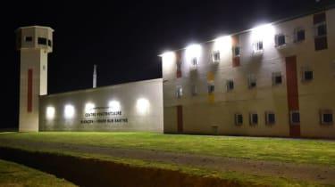 Conde-sur-Sarthe high-security prison in Normandy