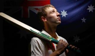 Phil Hughes of Australia
