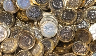 CARDIFF, UNITED KINGDOM - NOVEMBER 01: A pile of UK pound coins on November 1, 2019 in Cardiff, United Kingdom. (Photo by Matthew Horwood/Getty Images)