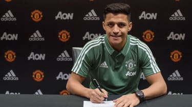 Alexis Sanchez Manchester United contract