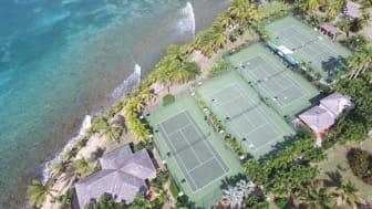 Tennis at Curtain Bluff, Antigua
