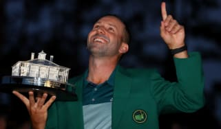 Sergio Garcia, US Masters green jacket