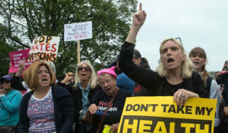 American Health Care Act protest