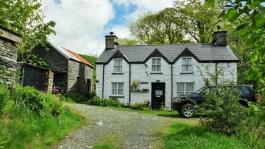 Aberllefenni village in Wales; Dafydd Hardy