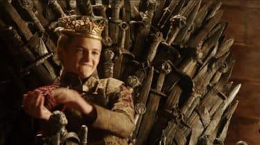 King Joffrey played by Jack Gleeson