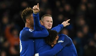 Wayne Rooney goal Everton West Ham