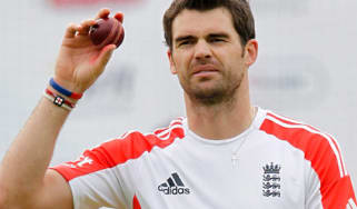 Jimmy Anderson England cricketer