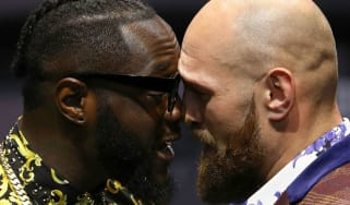 Deontay Wilder and Tyson Fury go head-to-head in Los Angeles for the WBC belt