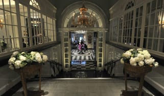 Thames Foyer in the Savoy Hotel