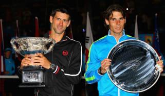 Novak Djokovic beat Rafael Nadal in an epic final at the 2012 Australian Open