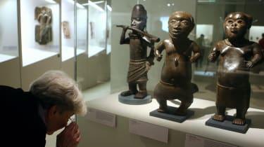 Benin sculptures
