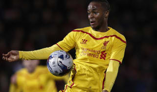 Raheem Sterling of Liverpool FC