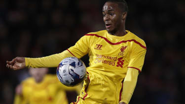 Raheem Sterling of Liverpool FC