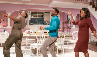 Cast of Fairview at the Young Vic