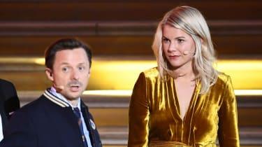 Women's Ballon d'Or winner Ada Hegerberg and French DJ Martin Solveig