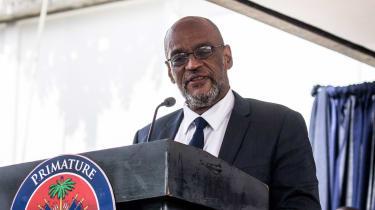 Haitian Prime Minister Ariel Henry