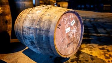 A cask of Arran Whisky