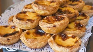 Pastel de nata is a Lisbon classic