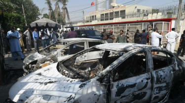 Chinese consulate attack in Karachi