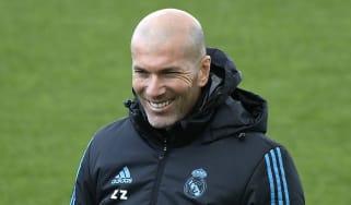 Zinedine Zidane Real Madrid vs Bayern Munich Champions League