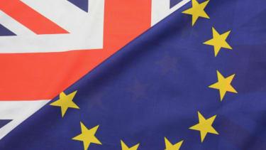 EU UK Flags