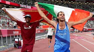 Mutaz Essa Barshim and Gianmarco Tamberi