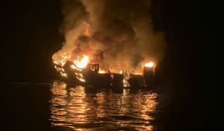 Conception boat fire