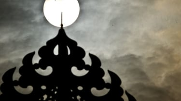 Transit of Venus seen in New Delhi, India