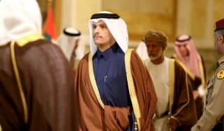 Qatari foreign minister