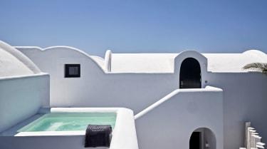 OMMA Santorini rooftops