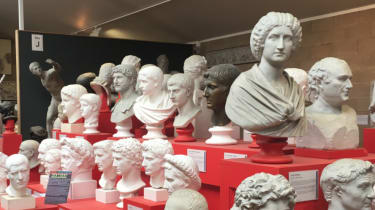 Plaster casts from the Cambridge Museum of Classical Archaeology