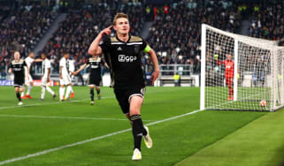 Matthijs de Ligt scored for Ajax against Juventus in the Champions League last season