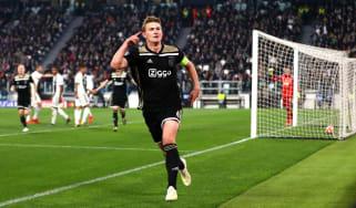 Matthijs de Ligt scored for Ajax against Juventus in the Champions League last season