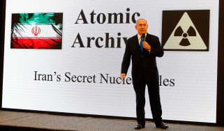 Israeli PM Benjamin Netanyahu has accused Iran of lying about its nuclear weapons programme