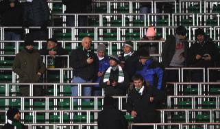 Celtic safe standing rail seats