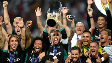 Real Madrid vs. Atletico Madrid 2018 Uefa Super Cup