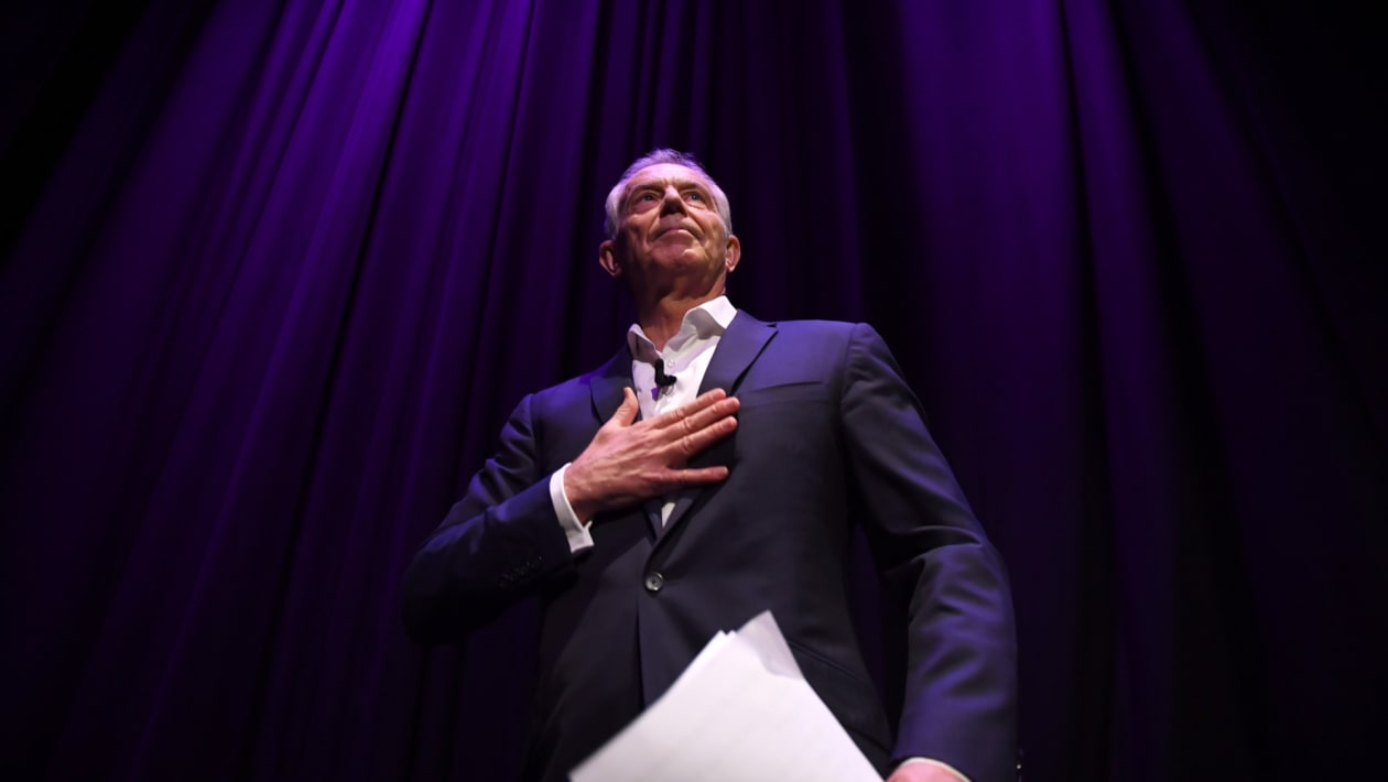 'There has never been a better time to accept Tony Blair'
