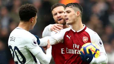Arsenal transfer news Shkodran Mustafi Granit Xhaka