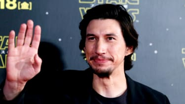 TOKYO, JAPAN - DECEMBER 10:Adam Driver attends the 'Star Wars: The Force Awakens' fan event at the Roppongi Hills on December 10, 2015 in Tokyo, Japan.(Photo by Christopher Jue/Getty Images f